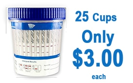 25 Cups Only $3.00
