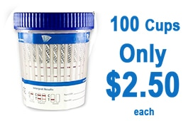 100 Cups Only $2.50