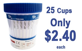 25 Cups Only $2.40